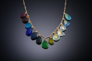 spectrum gf necklace 13-stone